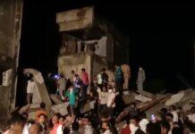 3 people dead in Vadodara, Gujarat, under construction late night