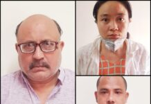 A freelance journalist and other two arrested for spying for China