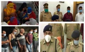 Kanpur: Police again caught large-scale online sex racket