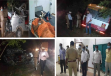 Kannauj: Three people killed in a fierce collision with a roadways bus's Maruti van
