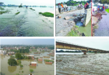 Many villages engulfed by floods in Rohin river of Gorakhpur, 3 years broken record