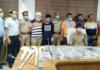 Progressive party district president arrested in illegal arms supply