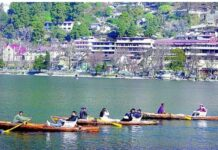 Nainital: Sailing started in the Naini lake lying unoccupied, slowly returning to Sarovar city