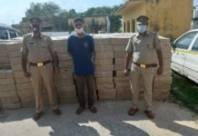 Tappal police caught illegal liquor smuggling, accused arrested