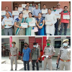 Citation given to teachers for commendable work, police sent two wanted accused in gangster to jail,
