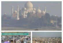 Pollution breaks record - weather of Taj city deteriorated during Corona period