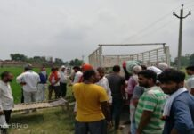 Jaunpur lockdown snatched the rosary from Delhi, hanged by youth