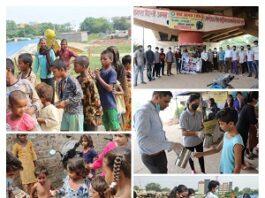 Agra: The Backbone Organization making poor children malnutrition free - Raj Gupta