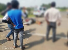 Breaking News: Three people injured in motorcycle accident on Rithi bypass