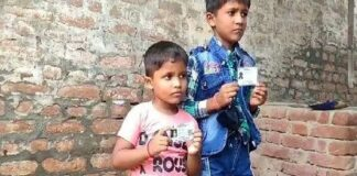 Uttar Pradesh: Awesome story of Mainpuri Police, two innocent people between 4 and 6 years old filed case in serious sections