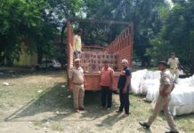 Kushinagar: Another success of Bahadurpur police post, caught consignment of liquor
