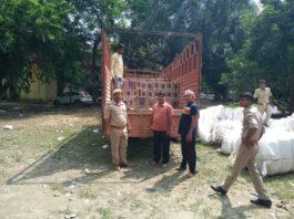 Kushinagar: Another success of Bahadurpur police post, caught consignment of liquor