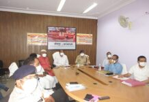 Projects worth more than 10 crores were reviewed by Honorable Chief Minister