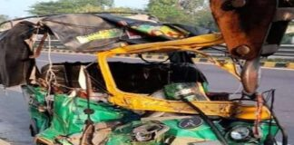 Ayodhya: 4 killed, 9 injured in auto and truck collision