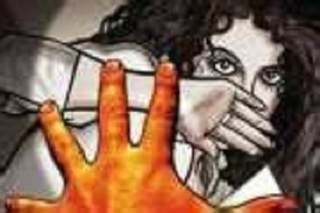 The arrest of an absconding accused in the rape case of a deranged woman for almost a year.